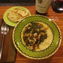 Bean and Kale Ragu