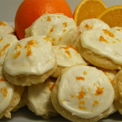 Orange Drop Cookies II Recipe