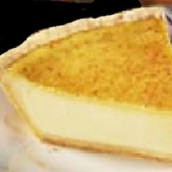 Egg Custard Pie IV Recipe