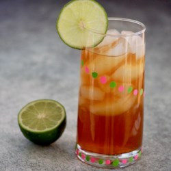 sweet lime iced tea printer friendly