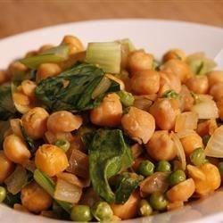 Photo of Warm Vegan Chickpea Salad by Heather: Healthy Vegan Recipes