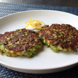 Fresh Asparagus Patties
