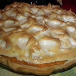 Grandaddy's Sweet Potato Meringue Pie Recipe