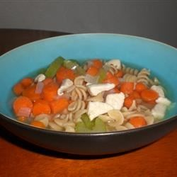 Chicken Rotini Soup Recipe