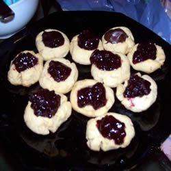 Peanut Butter Thumbprint Cookies I