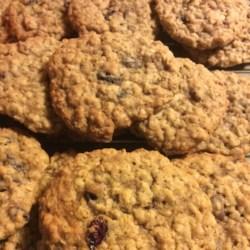 Oatmeal Raisin Toffee Cookies