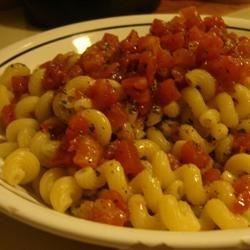 Light Southwestern Tomato Pasta Recipe