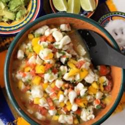 mexican mango and white fish ceviche printer friendly
