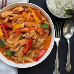Instant Pot(R) Red Thai Curry Chicken
