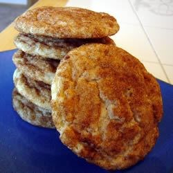 Whole Wheat Snickerdoodles II Recipe