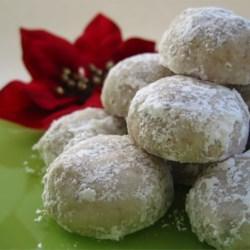 Elizabeth Dole's Pecan Roll Cookies |