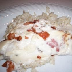 Smothered Bacon Chicken Recipe