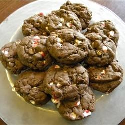 Chocolate Chip Peppermint Cookies