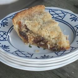 Homemade Mince Pie with Crumbly Topping