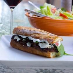Mediterranean Lamb Burgers