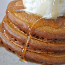 Grandma's Gingerbread Pancakes Recipe