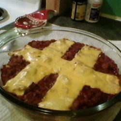 Not so Sloppy Joe Casserole Recipe