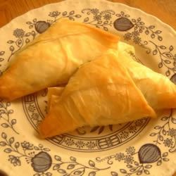 Cheese Filled Triangles