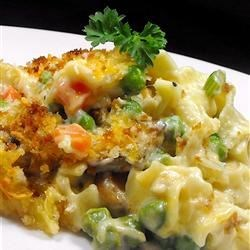 Tuna Noodle Casserole from Scratch Recipe