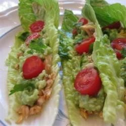 "Photo of Fish Tacos in Lettuce ""Shells"" by SlimCookins"