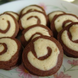 Chocolate Mint Pinwheels Recipe