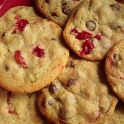 Spumoni Chocolate Chip Cookies Recipe