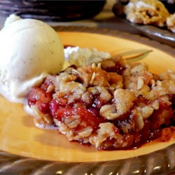 Brenda's Apple and Pomegranate Crisp Recipe