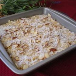 Quick Nariyal Burfi (Indian Coconut Fudge)