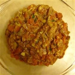 Photo of Spiced Eggplant Indian Style by sal