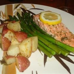 Salmon with Lemon Dill
