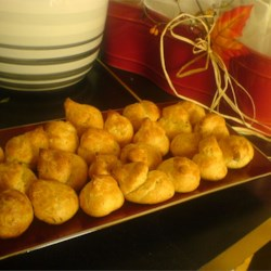 Cheese Puffs (Gougeres) Recipe