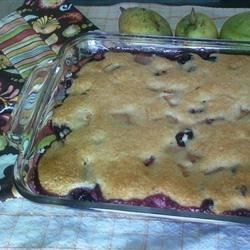 Fresh Fruit Cobbler Recipe