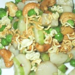 Pea, Jicama, and Cashew Salad Recipe