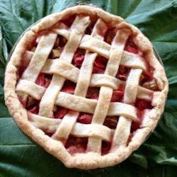 renees strawberry rhubarb pie printer friendly