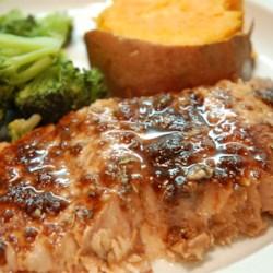 Balsamic-Glazed Salmon Fillets