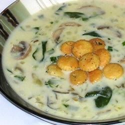 Oyster and Spinach Chowder Recipe