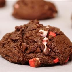 Photo of Soft Chocolate Mint Cookies by Kristin  Vincent
