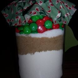Candy-Coated Chocolates Cookie Mix In A Jar