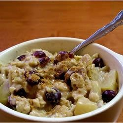 Christmas Morning Oatmeal Recipe