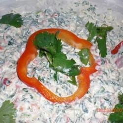 Jicama Spinach Dip Recipe