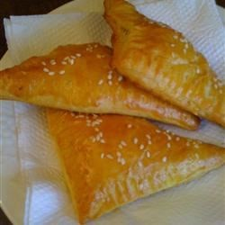 Flaky Crescent Mushroom Turnovers Recipe