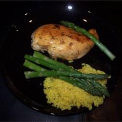 Rosemary Chicken with Orange-Maple Glaze