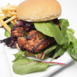 Bacon-Mushroom Turkey Burger