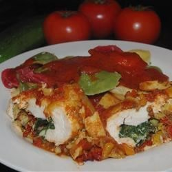 Artichoke and Tomato Chicken