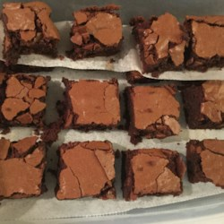 Fudgy Gluten-Free Teff Brownies