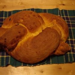 The English Saffron Bread