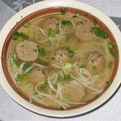 Meatball Pho-Pho Bo Vien