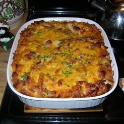 Ham and Cheese Breakfast Casserole Recipe
