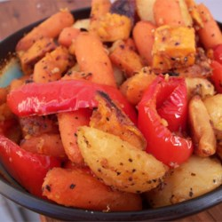 Absolutely Delicious Baked Root Vegetables Recipe