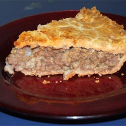 Meat Pie (Tourtiere)